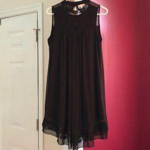 Altar'd State Black Swing Dress